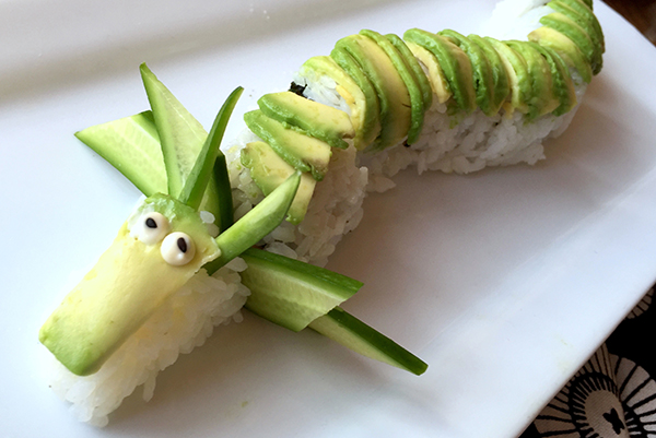 Making food fun: Sushi with kids